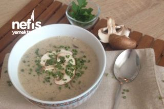 Kremalı Mantar Çorbası Tarifi