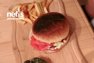 Hamburger (Burgerhamburger Tadında) Tarifi