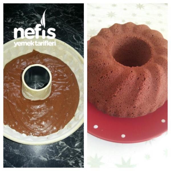 Kakaolu Kek( Tam Kıvamında)