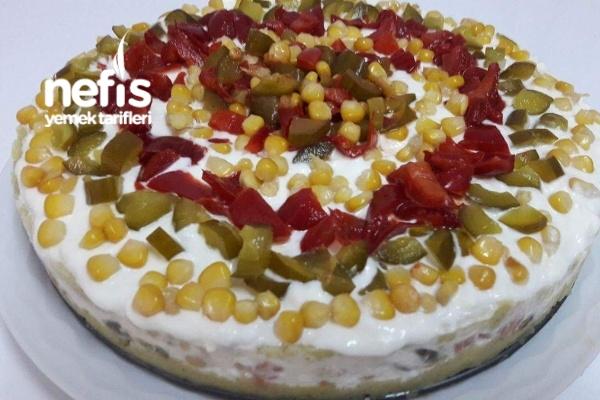 Yoğurtlu Mayonezli Patates Salatası(Gün Salatası)