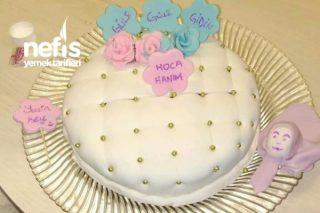 Şeker Hamurlu Pasta Tarifi