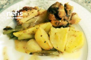Fırında Sebzeli Tavuk (Baget) Tarifi