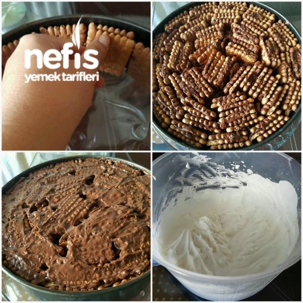 Çikolatalı Rulo Pasta Yapılışı