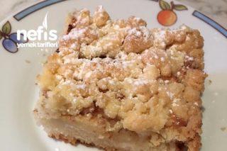 Elmalı Kırıntılı Kek Tarifi