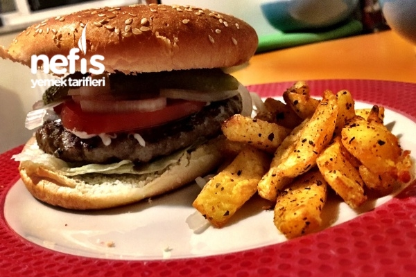 Ev Usulü Hamburger Menü Tarifi