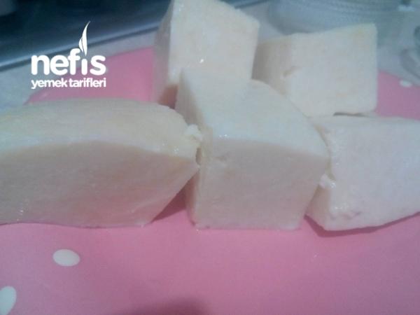 Doğal Ev Yapımı Peynir (limon İle)
