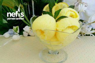 Gerçek Limonlu Dondurma Tarifi