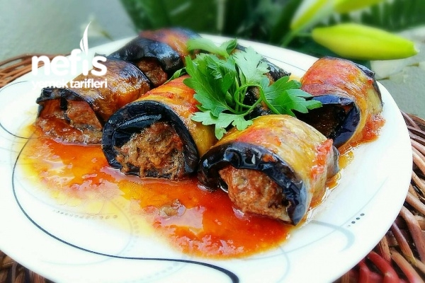 Rulo Patlıcan Kebabı Tarifi