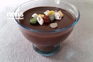 Bisküvili Çikolatalı Puding Tarifi
