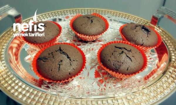 3 Malzemeli Brownie (5 Dakikada )