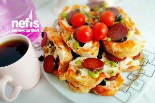 Kahvaltılık Pizza Dilimler Tarifi