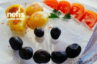 Közlenmiş Patates Tadında (Haşlama Patates İle Yapılan ) Tarifi