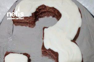 3 Şeklinde Doğum Günü Pastası Tarifi