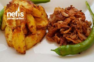 Fırında Yoğurtlu Patates ( Enfess ) Tarifi