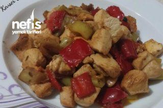 Biberli Tavuk Kavurması  (15 Dk.Hazır yemek) Tarifi
