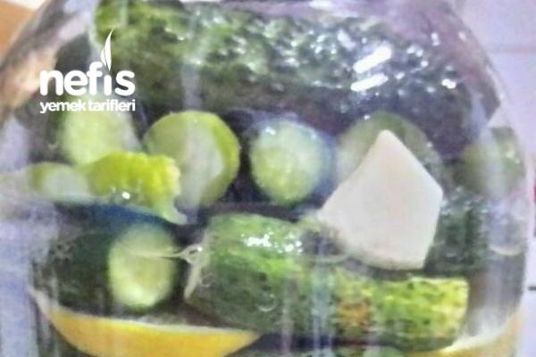 Limon Ve Domates Suyuyla Turşu ( Sirkesiz)