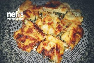 Farklı Ispanaklı Börek Tarifi