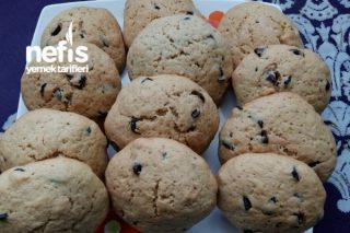 American Cookie (Basit Ve Lezzetli) Tarifi