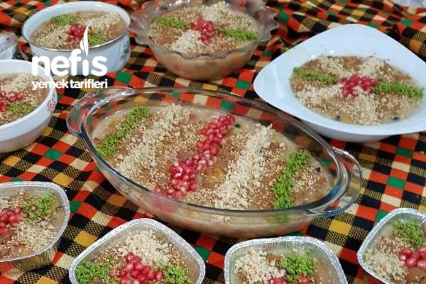 Aşure Yapımı - Müzeyyen Erden - Nefis Yemek Tarifleri