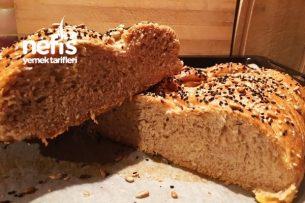 Leziz Tam Buğday Ekmeği (Resimli anlatım) Tarifi