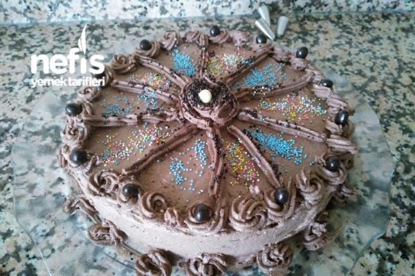 Acele İle Yapılan Süpriz Doğum Günü Pastası Tarifi