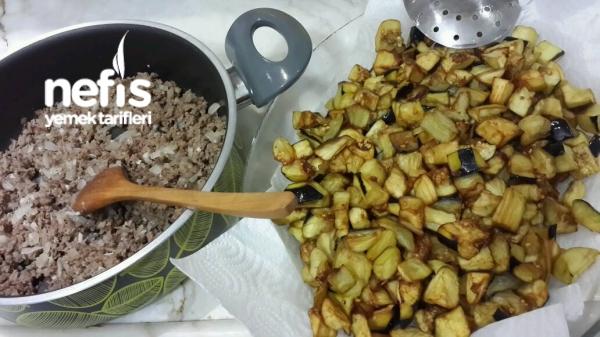 Fırında Patlıcan (Az Kişi İcin)