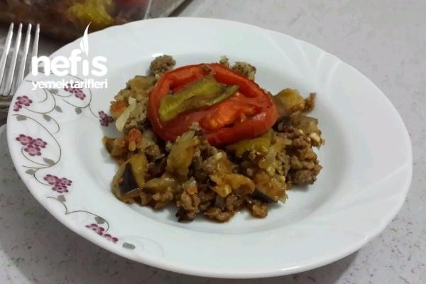 Fırında Patlıcan (Az Kişi İçin) Tarifi