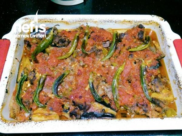 Kuzu Etli Patlıcan Kebabı