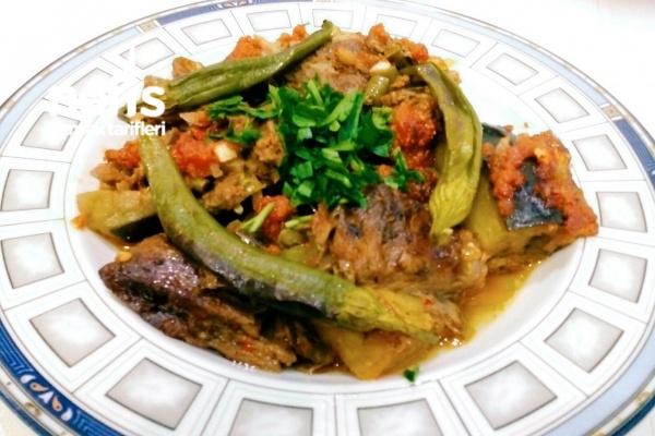 Kuzu Etli Patlıcan Kebabı Tarifi