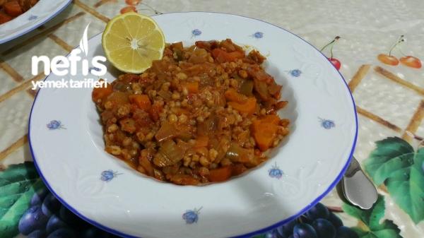 Pırasa Yemeği (acılı, Bulgurlu)