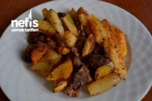 Fırında Patatesli Et Tarifi
