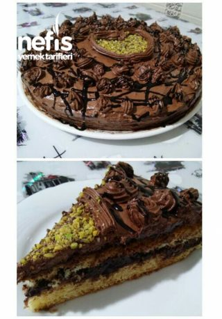 Çikolata Rüyam (Doğum Günü Pastası)