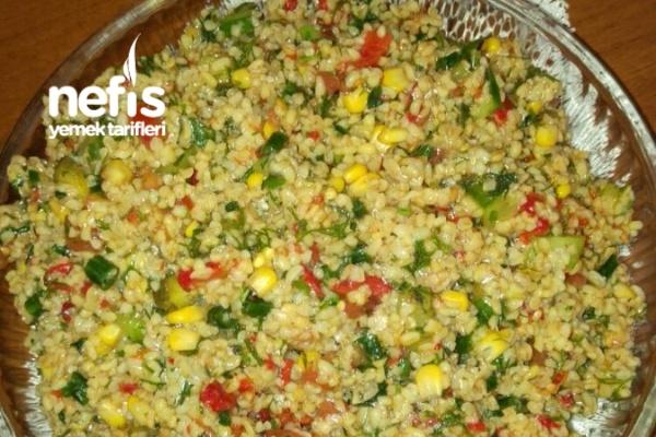 Nefis Bulgur Salatası Tarifi