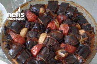 Fırında Patlıcan Dizmesi ( Patlıcan Kebabı) Tarifi