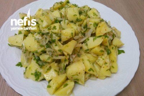 Kolay Patates Salatası Tarifi Videosu