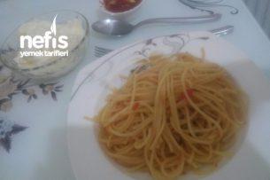Domatesli Spagetti Tarifi ( Salçasız)