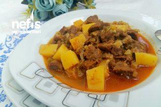Patatesli Et Yahni Tarifi