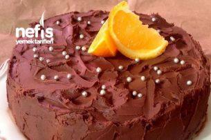 Portakallı Çikolatalı Kek Tarifi