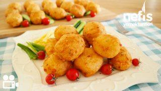 Kahvaltılık Peynirli Lokma Börek Videosu -1