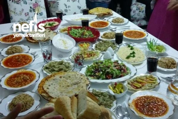 Ailemle Akşam Yemeğimiz