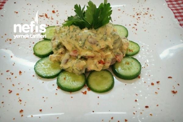 Barbunya Salatası (Bu Lezzeti Kaçırmayın) Tarifi