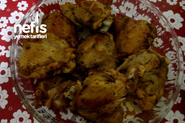 Izgara Tadında Tavuk İncik Tarifi