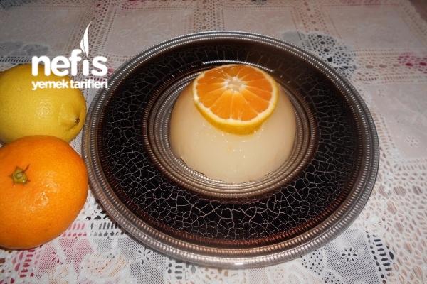 Mandalinalı Limonlu Pelte