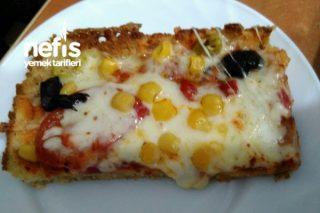 Bayat Ekmek Hamurlu Pizza