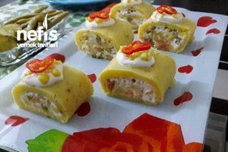 Garnitürlü Rulo Patates Tarifi