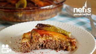 Patlıcanlı Tepsi Kebabı Videosu -1