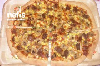 Pizza(Evdeki Malzemelerle) Tarifi