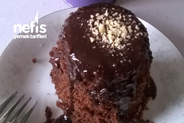 Tatlı Krizine Mug/Bardak Kek (Mikrodalgada)