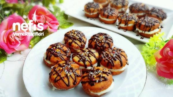 Kremalı Berliner(tatlı Hamur Kızartması)