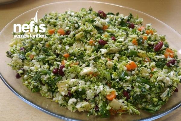 Karnabahar Ve Brokolili Salata Tarifi